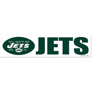 New York Jets Bumper Sticker (2-Pack)