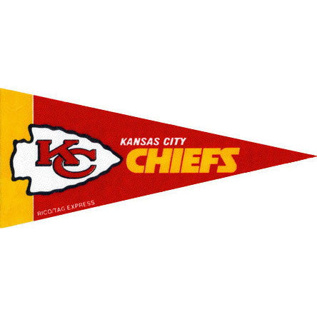 Kansas City Chiefs Mini Pennant (2-Pack)