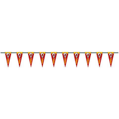 Kansas City Chiefs 6 Foot Pennant String