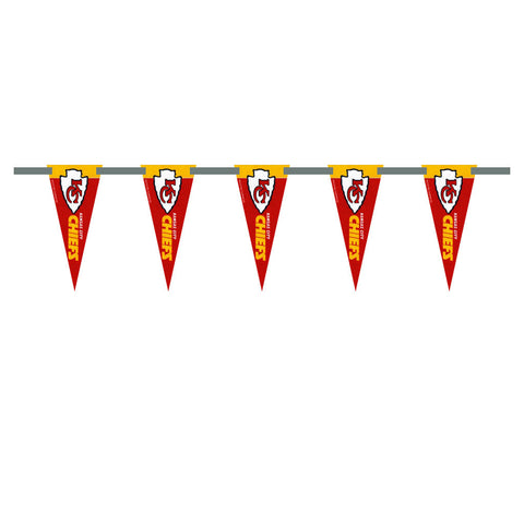 Kansas City Chiefs 3 Foot Pennant String