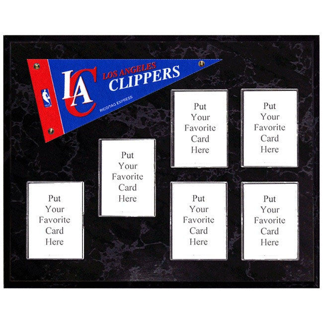 Los Angeles Clippers Mini Pennant Plaque