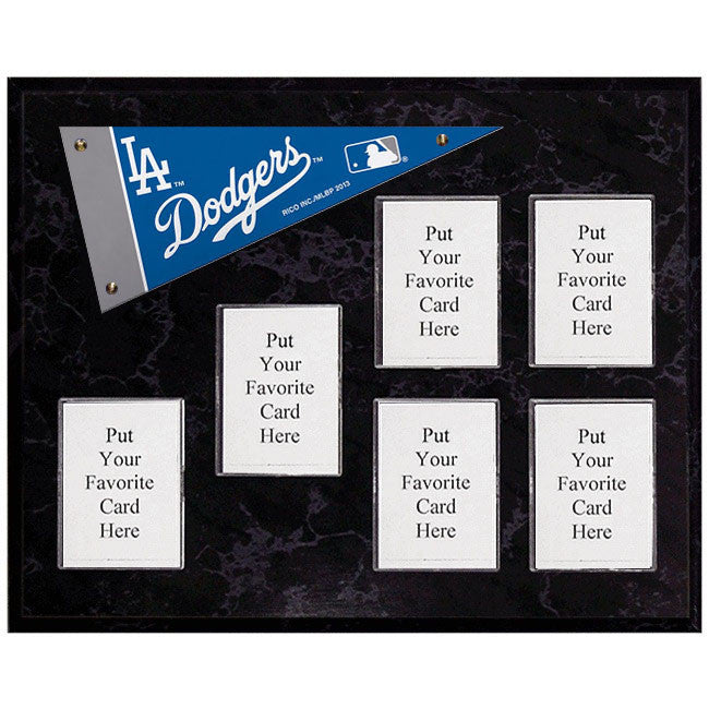 Los Angeles Dodgers Mini Pennant Plaque