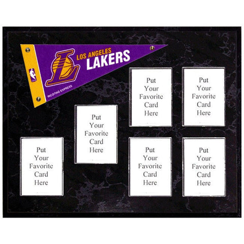 Los Angeles Lakers Mini Pennant Plaque