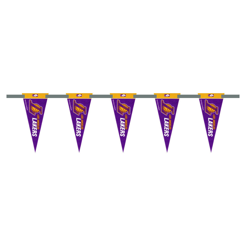 Los Angeles Lakers 3 Foot Pennant String