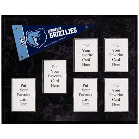 Memphis Grizzlies Mini Pennant Plaque