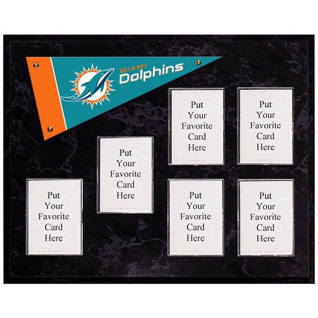 Miami Dolphins Mini Pennant Plaque