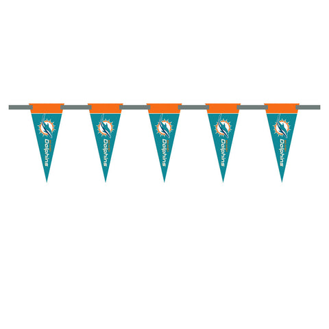 Miami Dolphins 3 Foot Pennant String