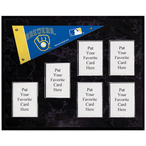 Milwaukee Brewers Mini Pennant Plaque