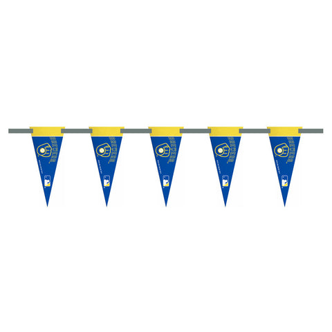 Milwaukee Brewers 3 Foot Pennant String