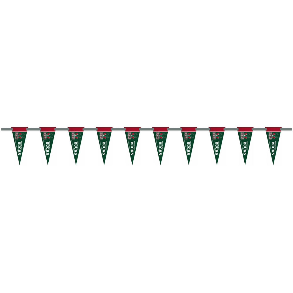 Milwaukee Bucks 6 Foot Pennant String