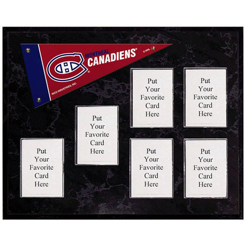 Montreal Canadiens Mini Pennant Plaque