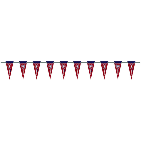 Montreal Canadiens 6 Foot Pennant String