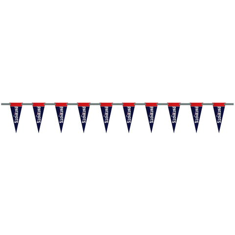 New England Patriots 6 Foot Pennant String