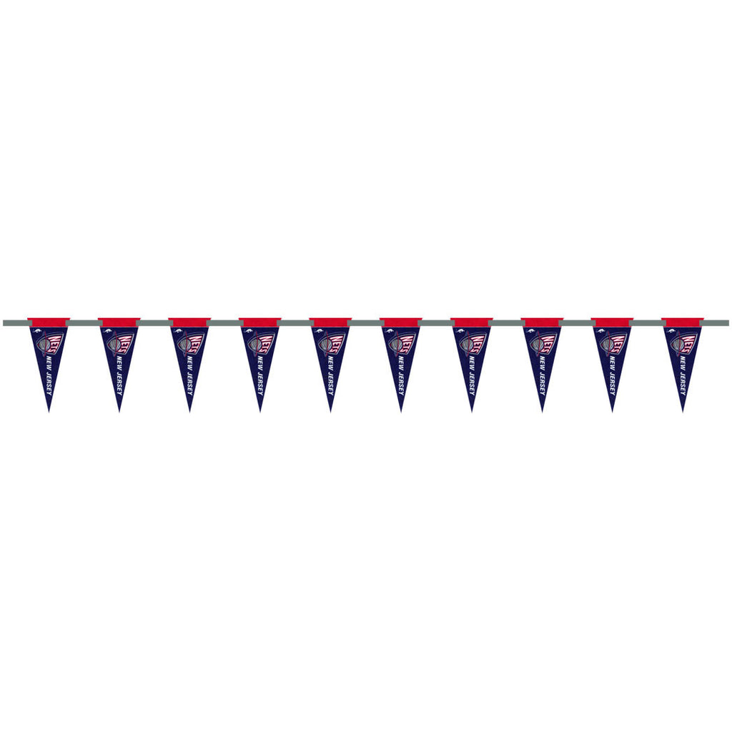 New Jersey Nets 6 Foot Pennant String