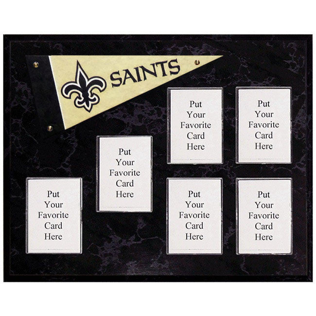 New Orleans Saints Mini Pennant Plaque