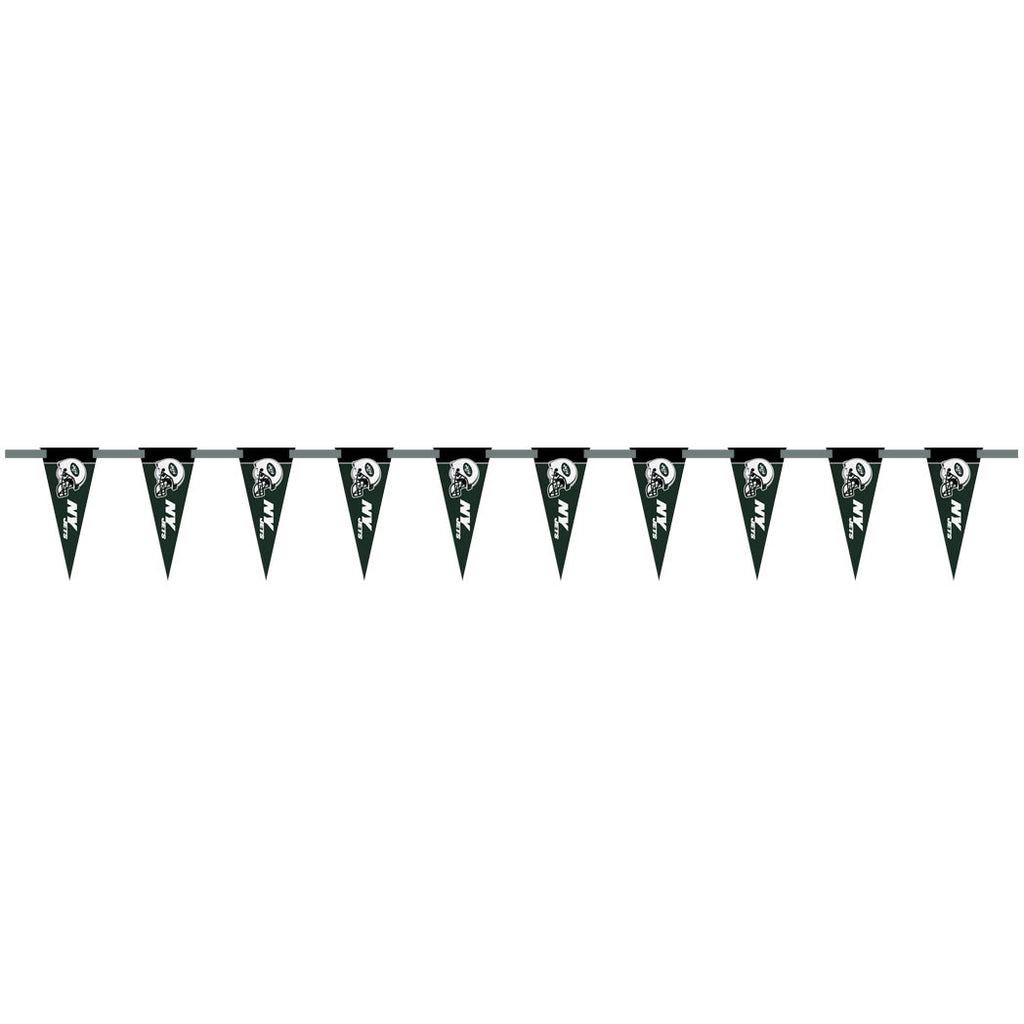 New York Jets 6 Foot Pennant String