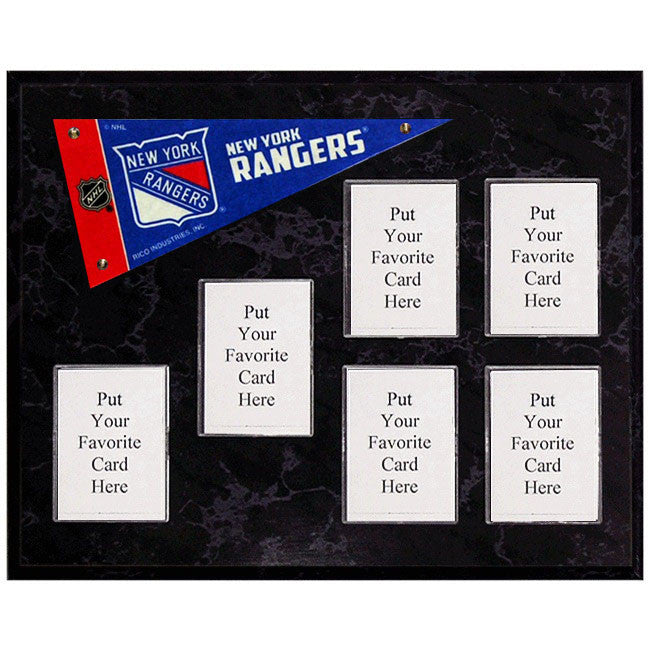 New York Rangers Mini Pennant Plaque