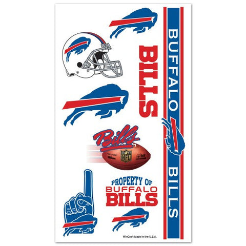 Buffalo Bills Temporary Tattoo