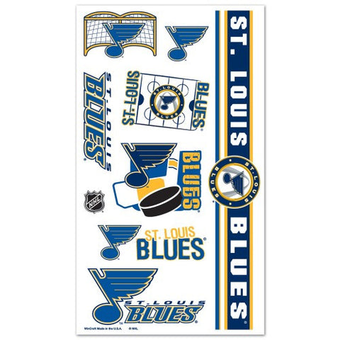 St. Louis Blues Temporary Tattoo