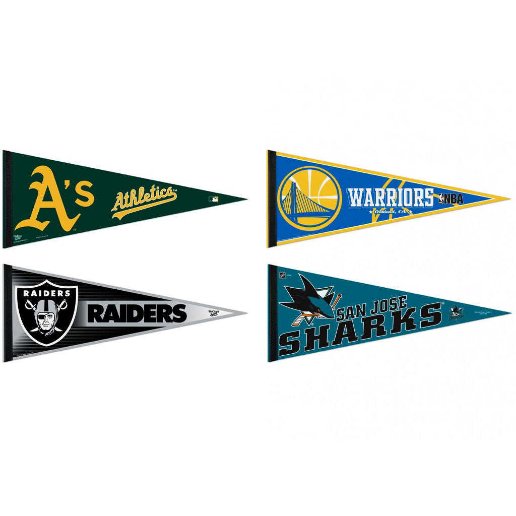 Oakland Pennants: Hometown Collection 4 Pennants