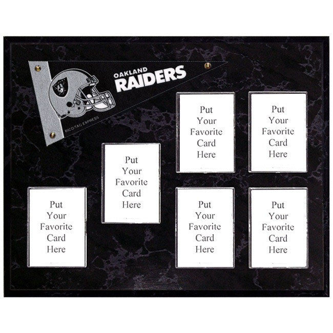 Oakland Raiders Mini Pennant Plaque