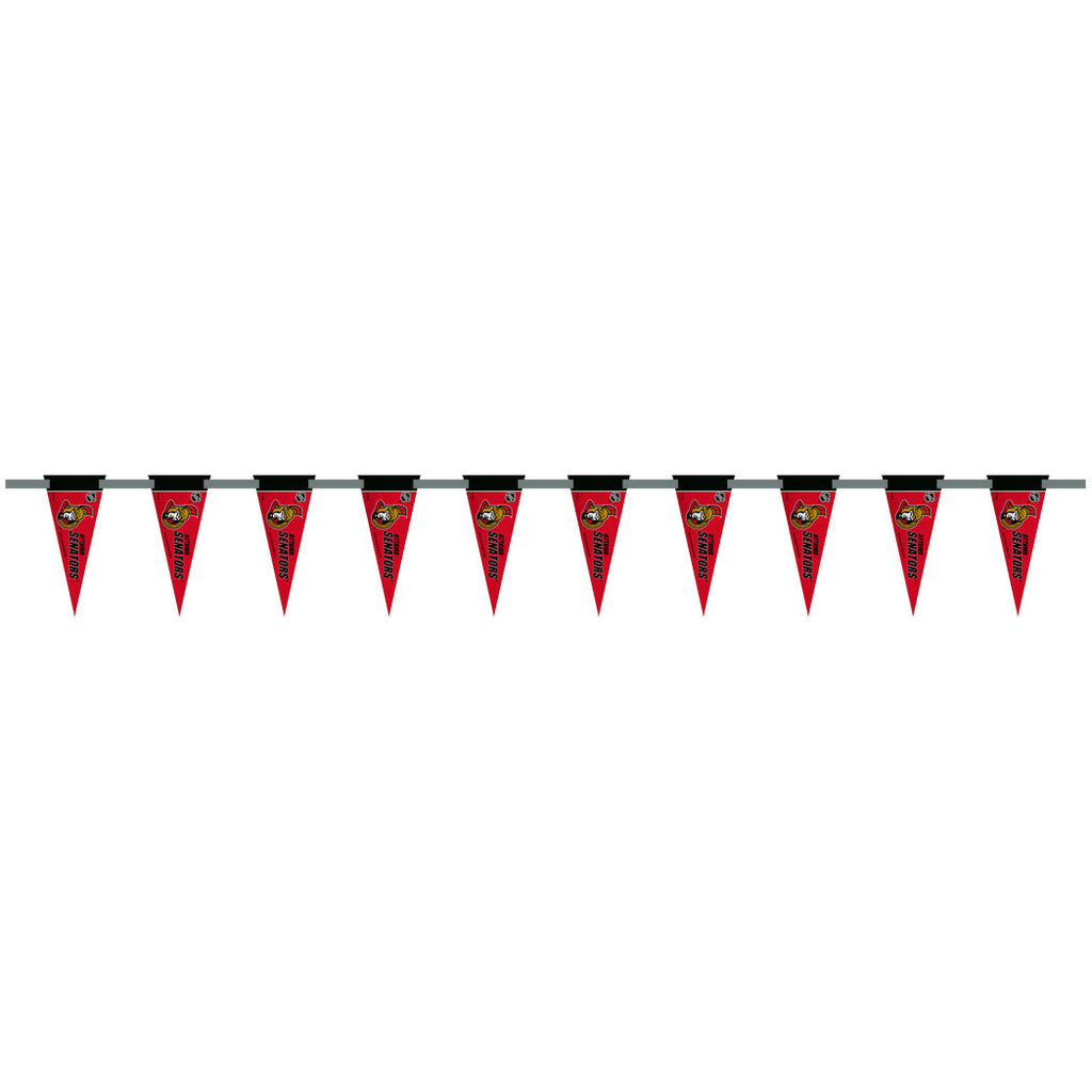 Ottawa Senators 6 Foot Pennant String