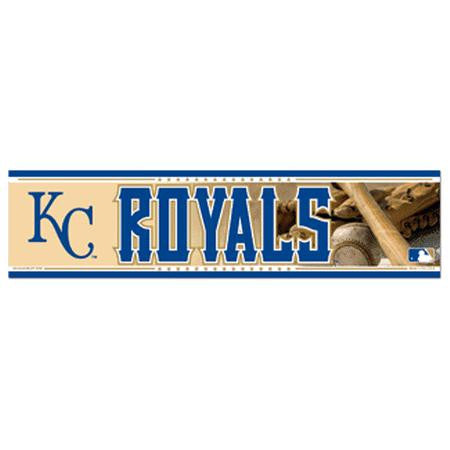 Kansas City Royals Bumper Sticker (2-Pack)