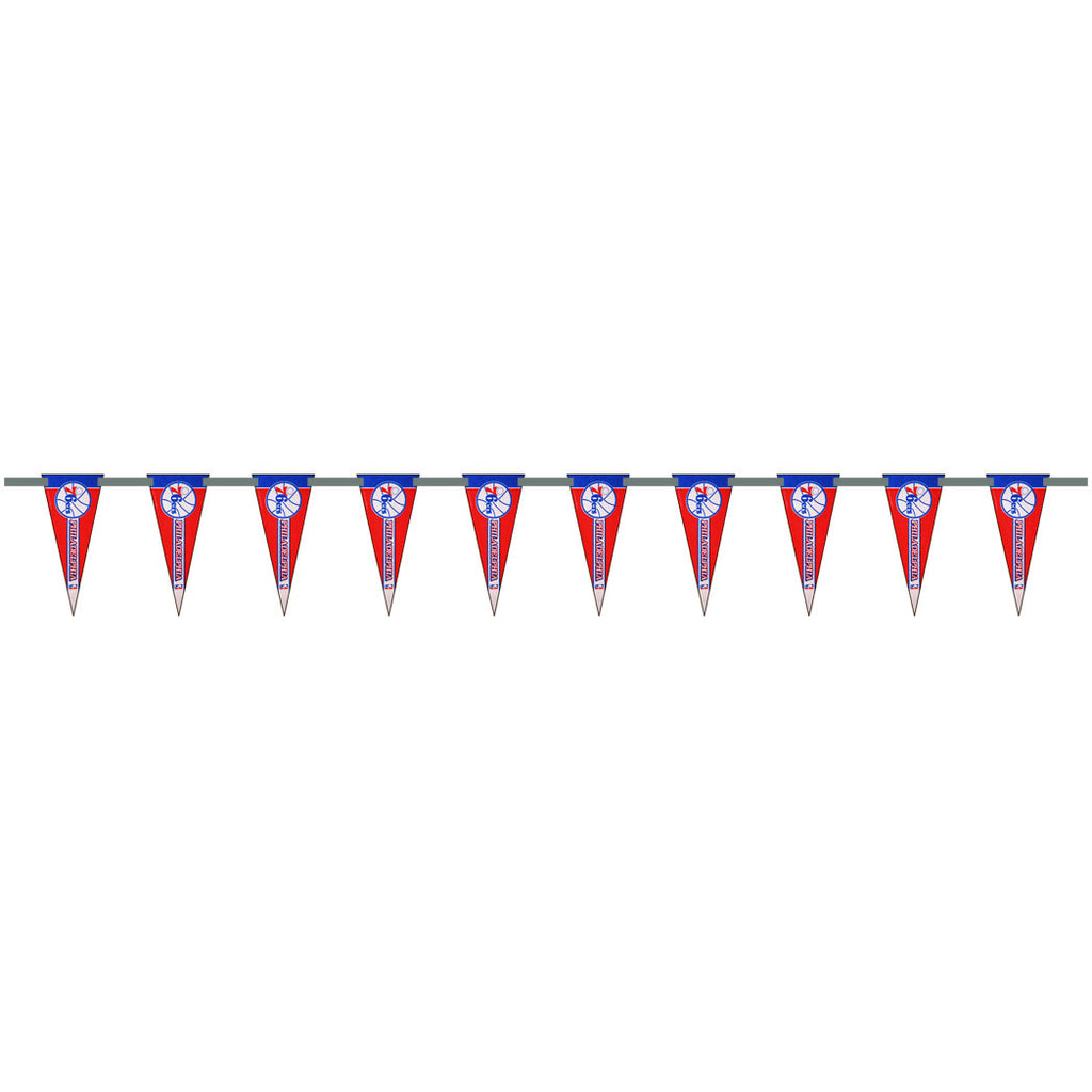 Philadelphia 76ers 6 Foot Pennant String