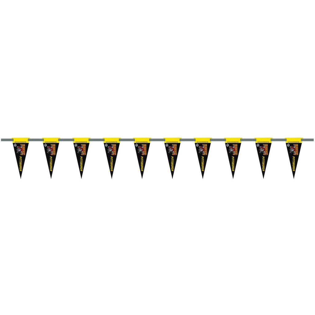 Pittsburgh Pirates 6 Foot Pennant String
