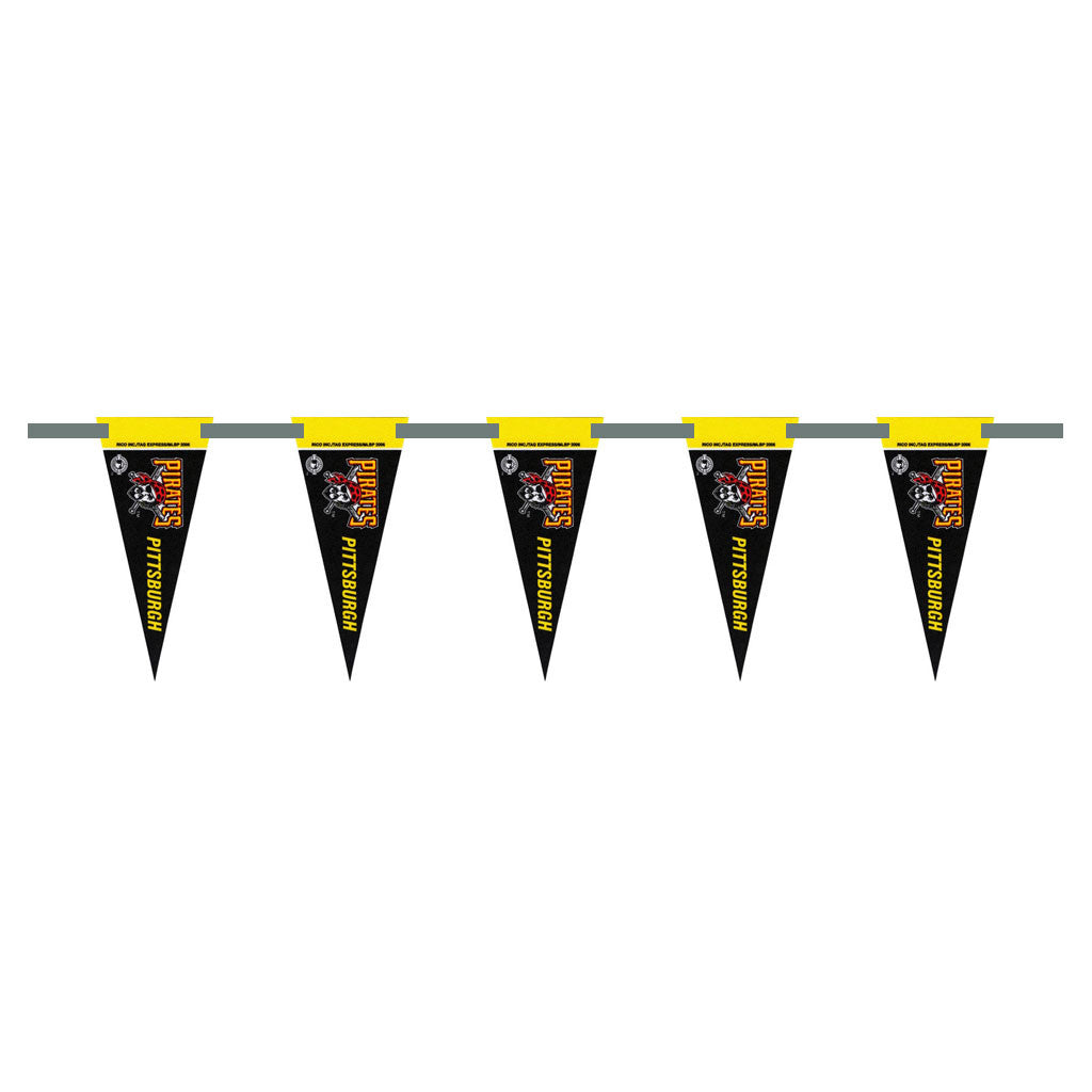 Pittsburgh Pirates 3 Foot Pennant String