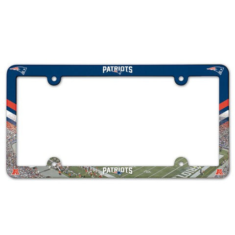 New England Patriots License Plate Frame (2-Pack)