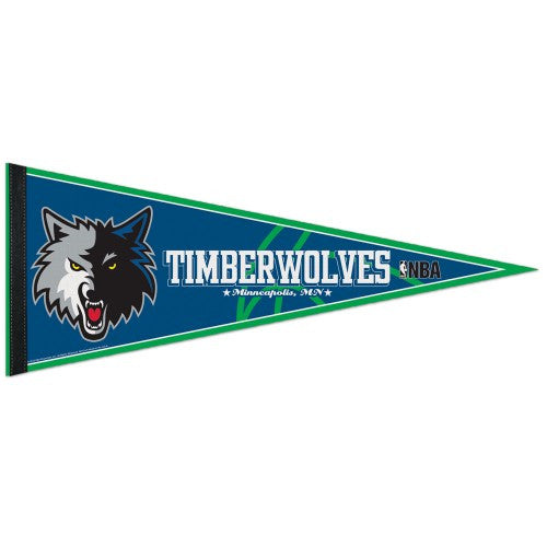 Minnesota Timberwolves Pennant NBA Basketball Full Size