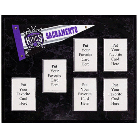 Sacramento Kings Mini Pennant Plaque