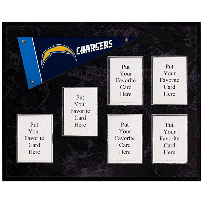 San Diego Chargers Mini Pennant Plaque
