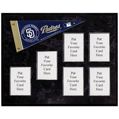 San Diego Padres Mini Pennant Plaque