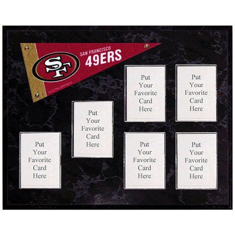 San Francisco 49ers Mini Pennant Plaque
