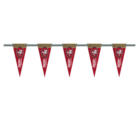 San Francisco 49ers 3 Foot Pennant String