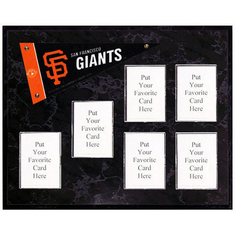 San Francisco Giants Mini Pennant Plaque