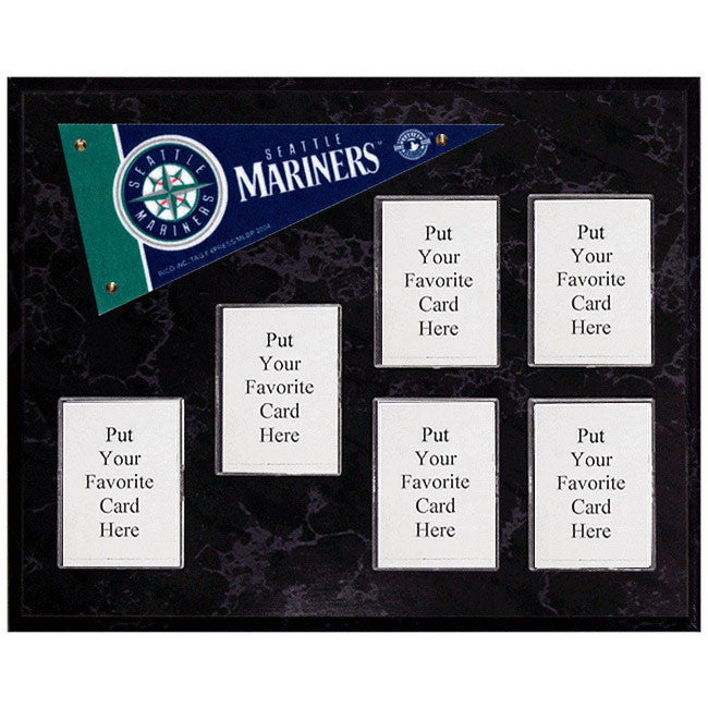 Seattle Mariners Mini Pennant Plaque