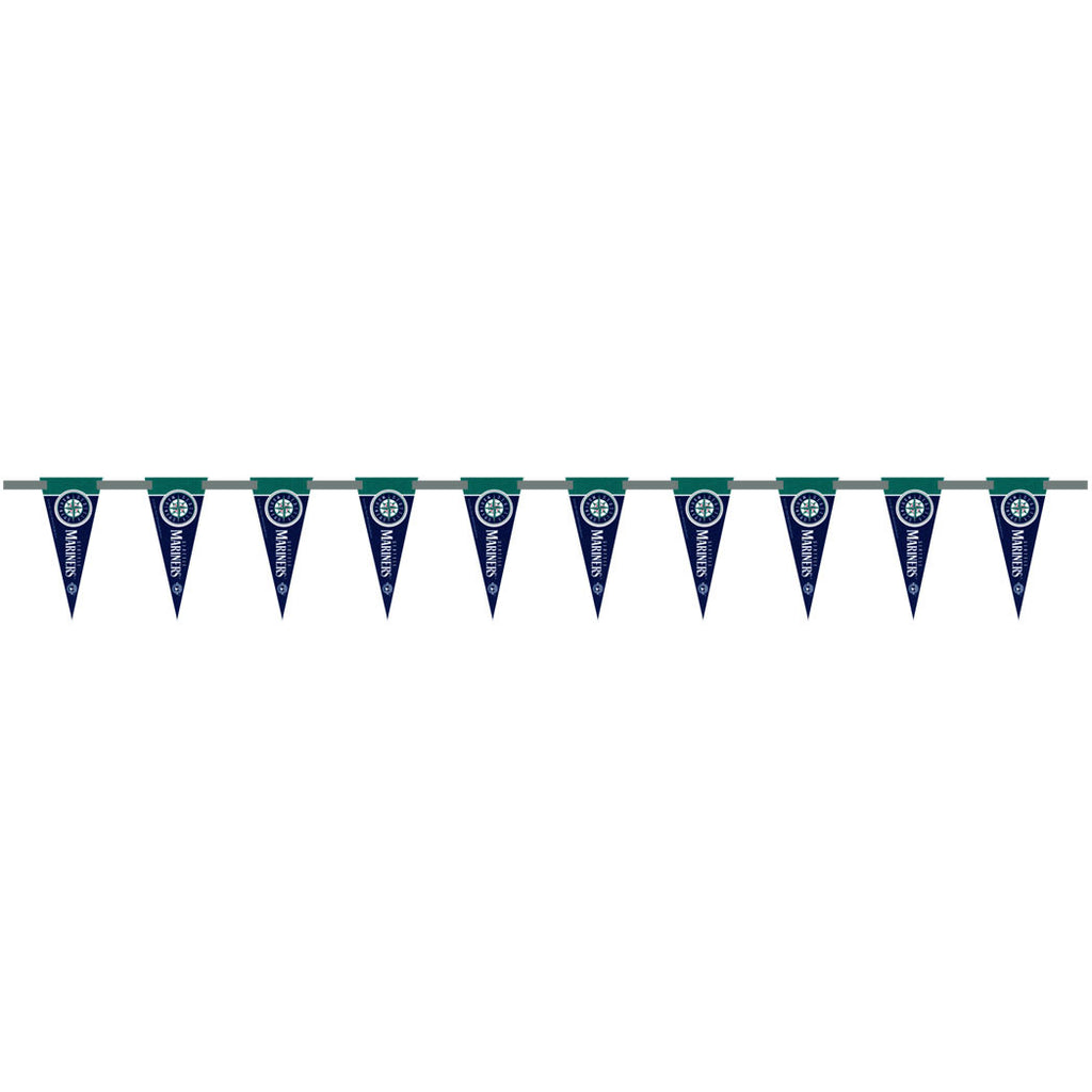 Seattle Mariners 6 Foot Pennant String
