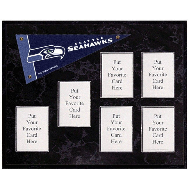 Seattle Seahawks Mini Pennant Plaque