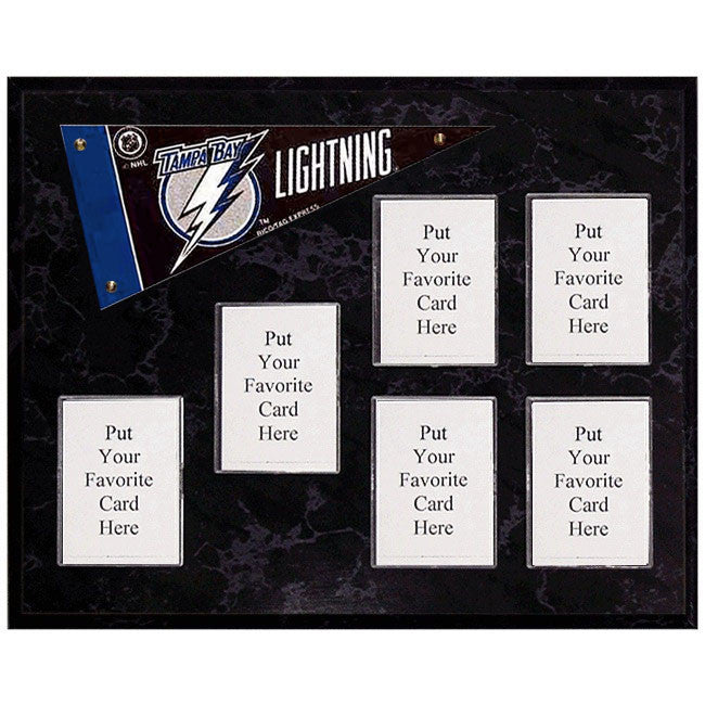 Tampa Bay Lightning Mini Pennant Plaque