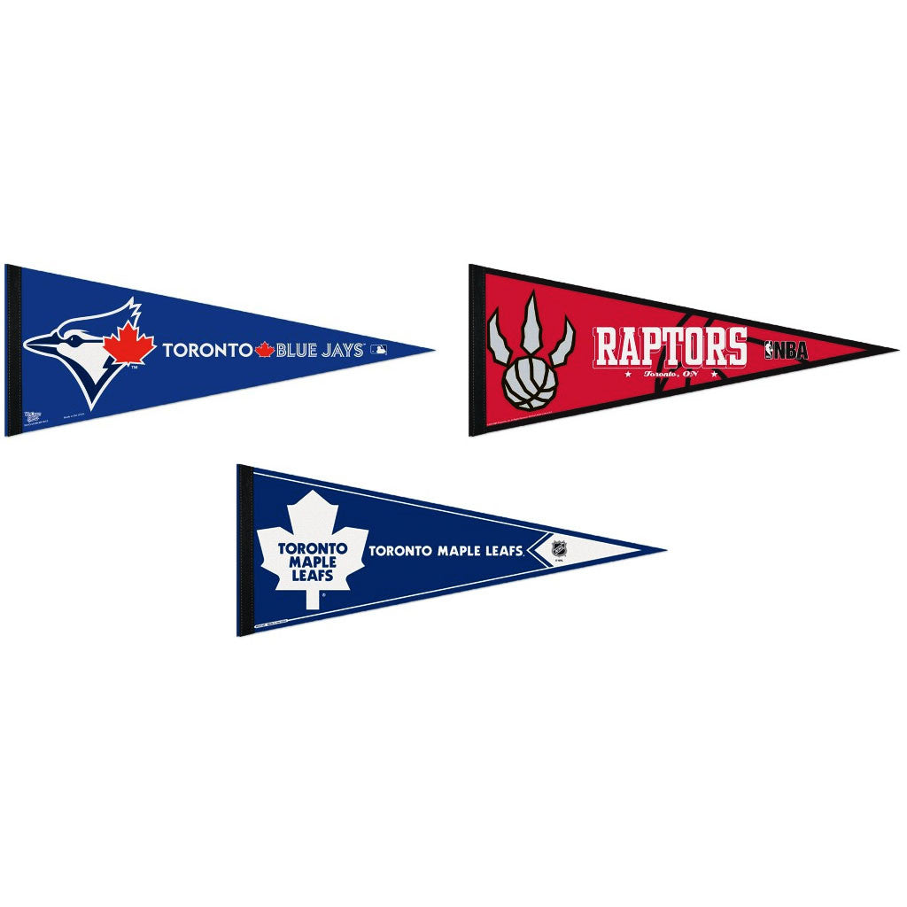 Toronto Pennants: Hometown Collection 3 Pennants