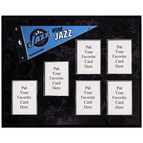Utah Jazz Mini Pennant Plaque