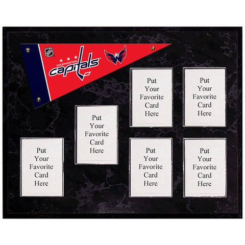 Washington Capitals Mini Pennant Plaque