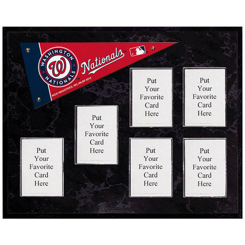 Washington Nationals Mini Pennant Plaque