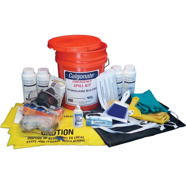 Calgonate HF Spill Kit (Per-Person)