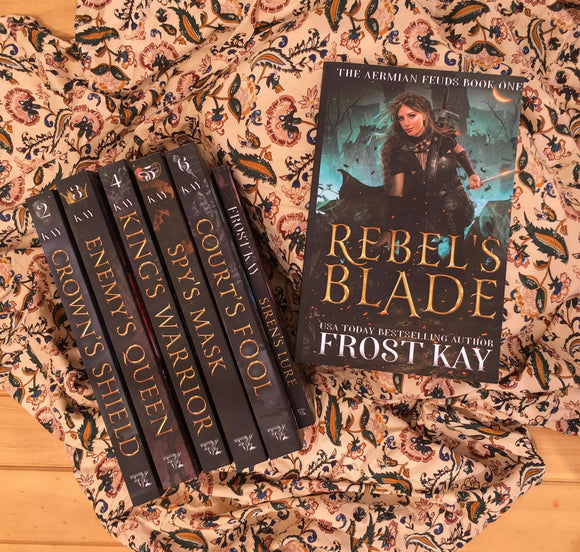 The Aermian Feuds series by Frost Kay