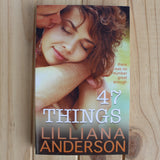 47 Things by Lilliana Anderson