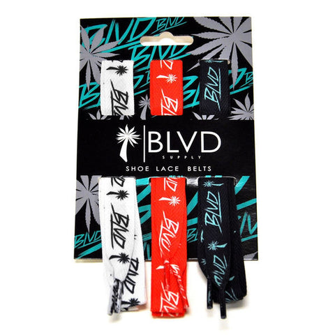 Blvd Supply Shoe Lace Belts - BLVD Supply inc